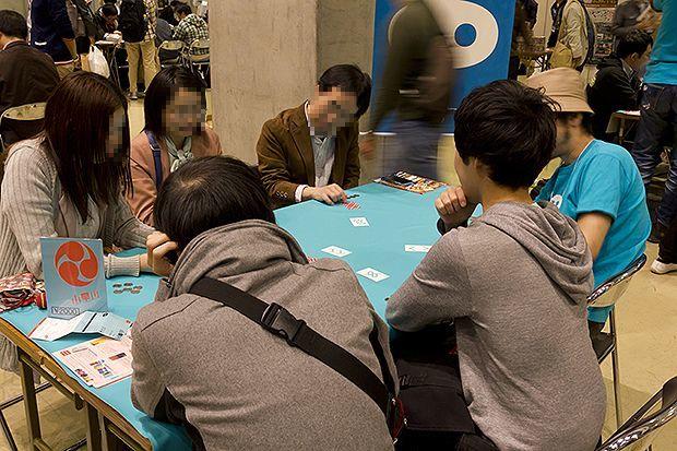 ゲームマーケット2013春の様子