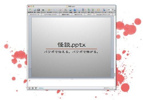 パワポ×怪談のトークライブ「怪談.pptx」開催 強力プレゼンターが登壇