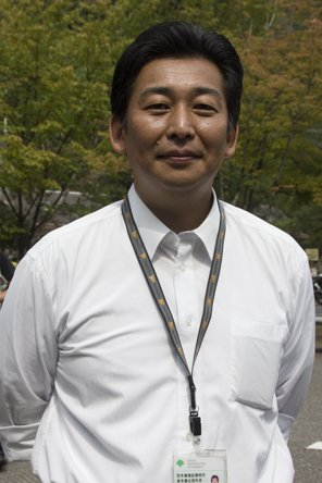 東京都建設局 奥多摩出張所所長・増田聡さん