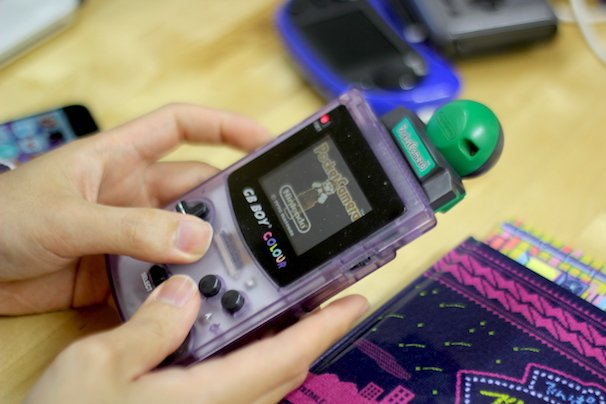 m7kenjiさんが持参した『PocketCamera』