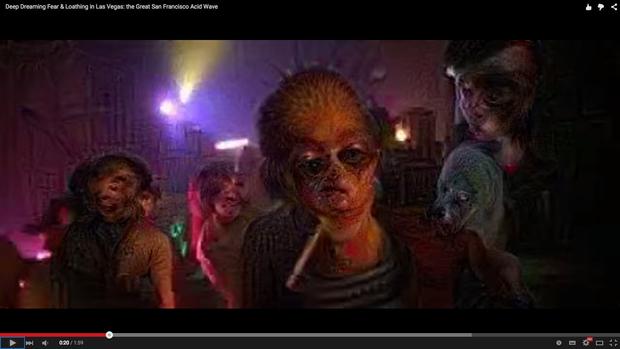 「Deep Dreaming Fear & Loathing in Las Vegas: the Great San Francisco Acid Wave」スクリーンショット