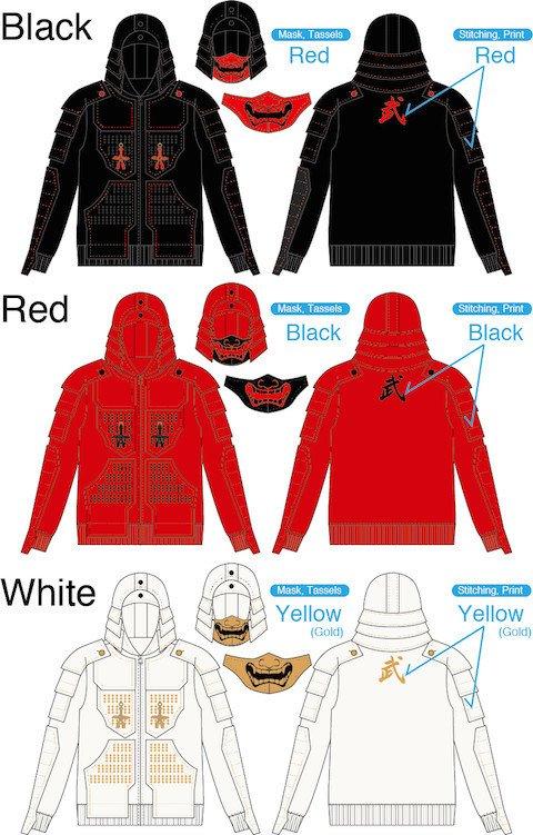 Samurai Armor Hoodies - Tokyo Otaku Mode Premium Shopより 2