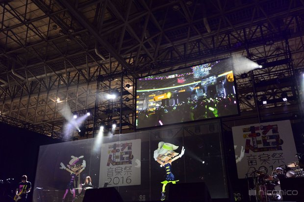ニコニコ超会議2016「超音楽祭2016」でのシオカラーズライブ 3