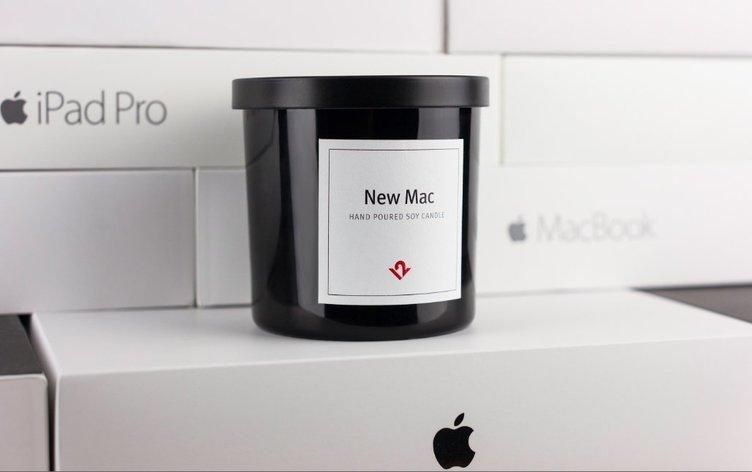 新品Macの匂いがするロウソク登場! 海外で完売するほどの人気