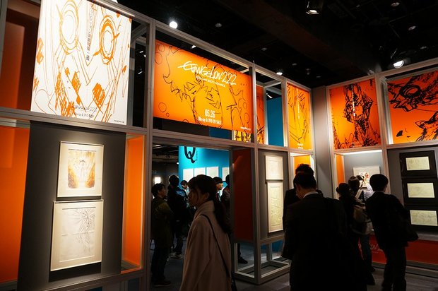 「株式会社カラー10周年記念展 過去(これまで)のエヴァと、未来(これから)のエヴァ。そして現在(いま)のスタジオカラー。」画像3