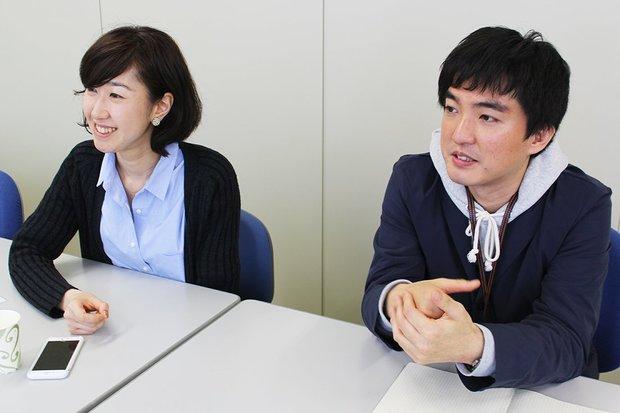 左:藤江千紘さん(ディレクター) 右:萩島昌平さん(SNS担当)