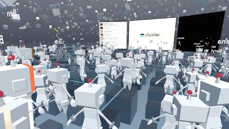 VRアプリ「cluster.」がひきこもりを加速する! 仮想空間で動画を共有