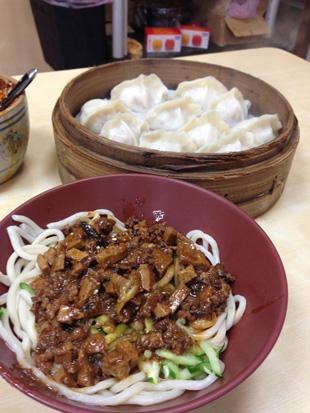 おすすめのジャージャー麺と水餃子のお店「福大山東蒸餃大王」
