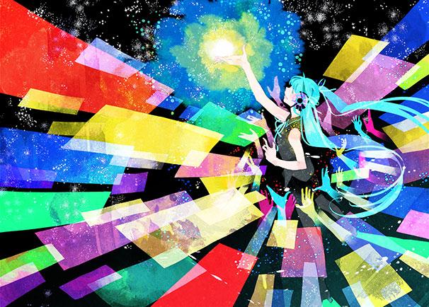 ざにお×うたたP「一緒に行こうよ、幸せな未来へ」のイラスト / 吉田ヨシツギ
