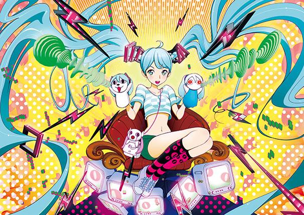 ピノキオP×鬱P「ゴージャスビッグ対談」のイラスト / ナクアミ