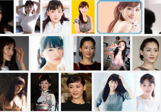 綾瀬はるかさんGoogle画像検索スクリーンショット