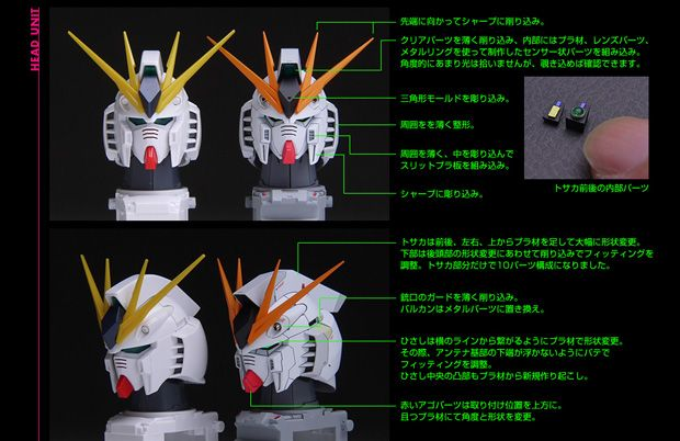 スゴすぎる「1/100 MG RX-93 νガンダム Ver.Ka」改修塗装済完成品2