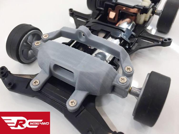ミニ四駆をラジコン化できる改造キットがスゴい スマホでお手軽操作