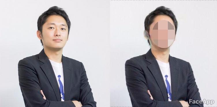 どんな顔写真も笑顔にする「FaceApp」で鬼編集長を笑わせてみた