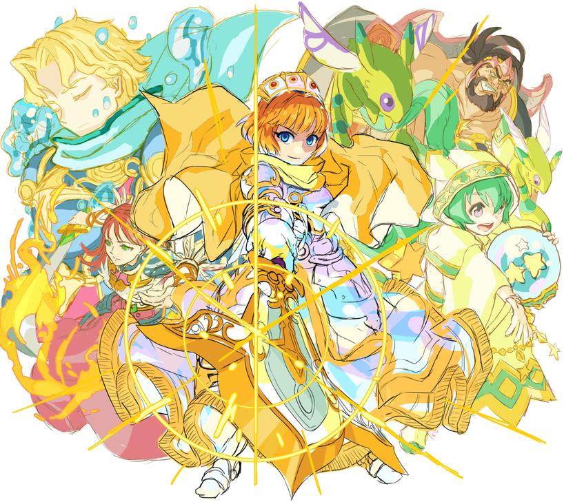 「円卓の騎士王アーサー」ラフ/「モンストフェスティバル2015」終盤でサプライズ発表された